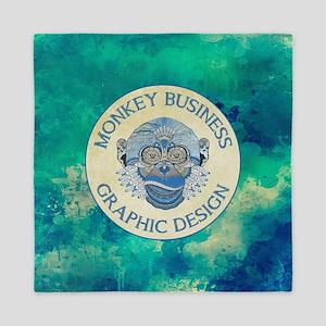MONKEY BUSINESS GRAPHIC DESIGN Queen Duvet