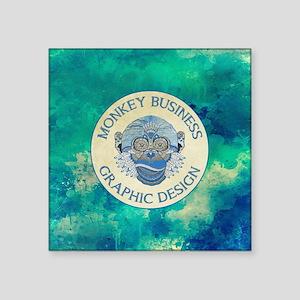 MONKEY BUSINESS GRAPHIC DESIGN Sticker