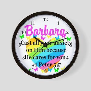 1 PETER 5:7 Wall Clock