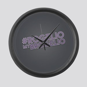 Rogelio My Brogelio Large Wall Clock