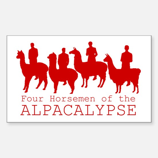 Four Horsemen of Alpacalypse Decal
