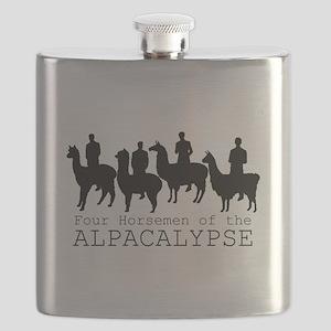 Four Horsemen of Alpacalypse Flask