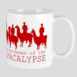 Four Horsemen of Alpacalypse Mugs