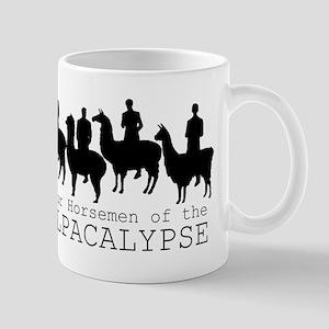 Four Horsemen of Alpacalypse Mugs