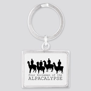 Four Horsemen of Alpacalypse Keychains