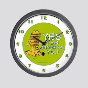 Ignoring you Garfield Wall Clock