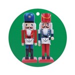 The Happy Masons Nutcrackers Ornament (Round)