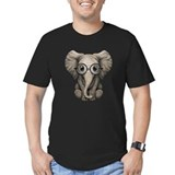 Elephant Fitted Dark T-Shirts
