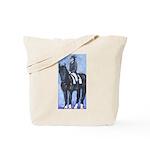 Dressage Rider Tote Bag
