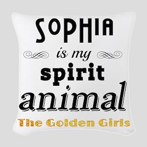 Sophia Petrillo is My Spirit A Woven Throw Pillow