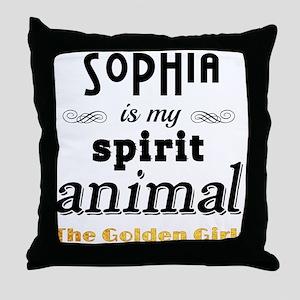 Sophia Petrillo is My Spirit Animal Throw Pillow
