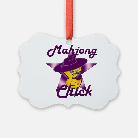 Mahjong Chick #9 Ornament