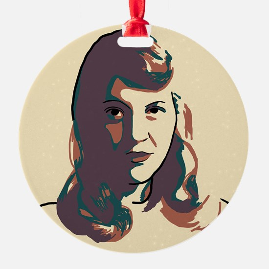 Sylvia Plath Ornament