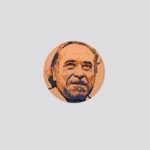 Charles Bukowski Mini Button