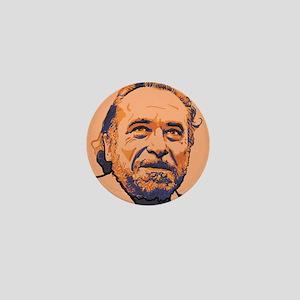 Charles Bukowski Mini Button