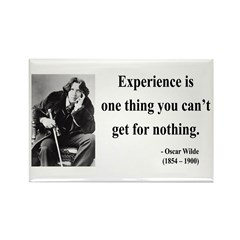 Oscar Wilde 11 Rectangle Magnet (100 pack)