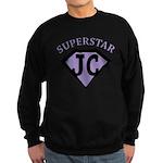 JC Superstar in purple Sweatshirt