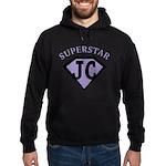 JC Superstar in purple Hoodie