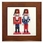 The Happy Shriners Nutcrackers Framed Tile