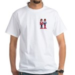 The Happy Shriners Nutcrackers White T-Shirt