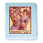 Maud Arizona Vintage Tattooed Lady Print baby blan