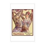 Maud Arizona Vintage Tattooed Lady Print Poster Pr