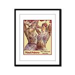 Maud Arizona Vintage Tattooed Lady Print Framed Pa