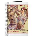 Maud Arizona Vintage Tattooed Lady Print Journal