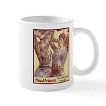 Maud Arizona Vintage Tattooed Lady Print Mugs