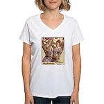 Maud Arizona Vintage Tattooed Lady Print T-Shirt