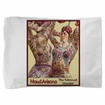 Maud Arizona Vintage Tattooed Lady Pillow Sham