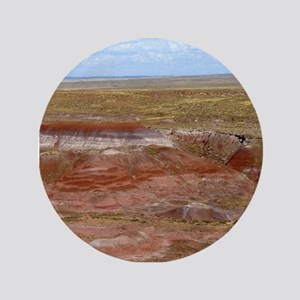"Harvest Moons Red Hills 3.5"" Button"
