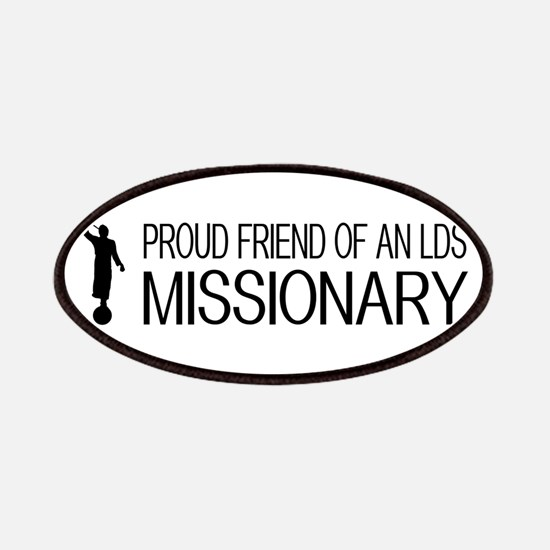 LDS: Proud Missionary Friend (White) Patch
