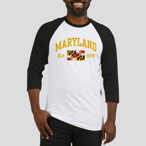 marylandflag1788b Baseball Jersey