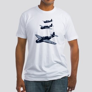 WW2 Planes Fitted T-Shirt