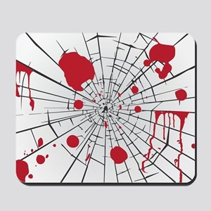 halloween shattered glass Mousepad