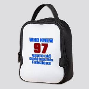 Who Knew 97 Years Old Could Loo Neoprene Lunch Bag