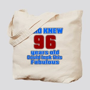 Who Knew 96 Years Old Could Look This Fab Tote Bag