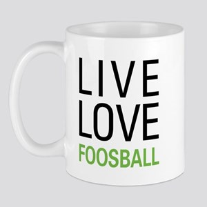 Live Love Foosball Mug