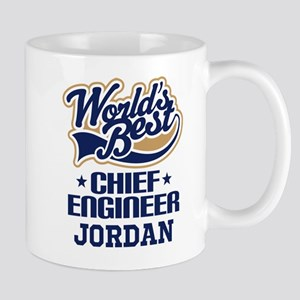 Chief Engineer Personalized Gift Mugs