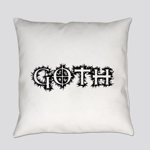Goth Everyday Pillow