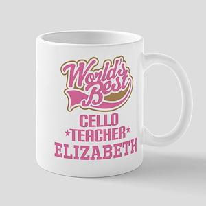 Cello Teacher Personalized Gift Mugs
