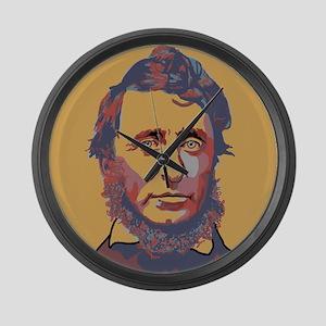 Henry David Thoreau Large Wall Clock