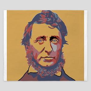 Henry David Thoreau King Duvet