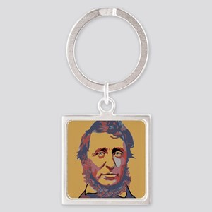 Henry David Thoreau Keychains