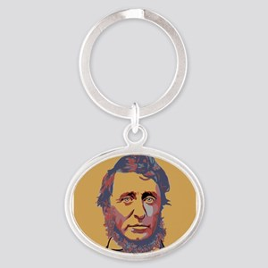 Henry David Thoreau Keychains