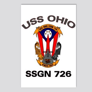 USS Ohio SSGN 726 Postcards (Package of 8)