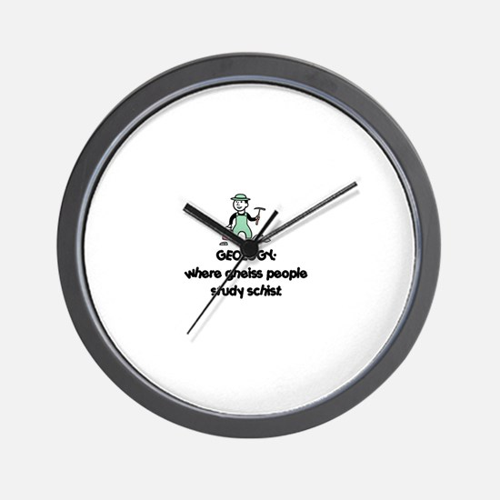Cute Rock hammers Wall Clock