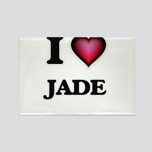 I Love Jade Magnets