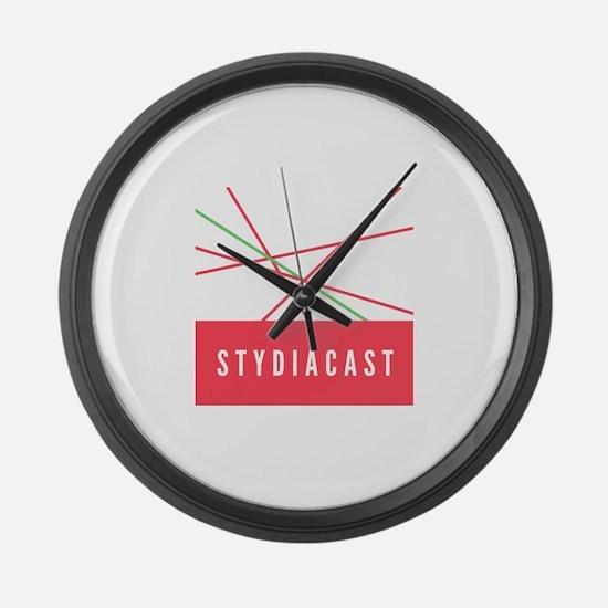 STYDIACAST Large Wall Clock